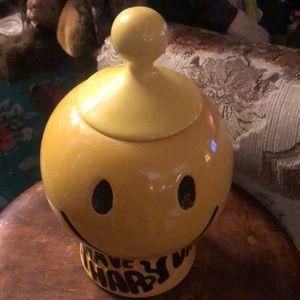 McCoy USA yellow cookie jar